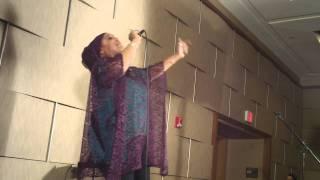 Ebony Khan Singing Beautiflly