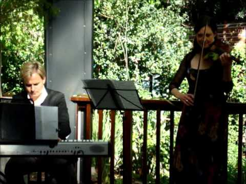 Zanta Hofmeyr & Charl du Plessis - Gingko Concert on the Deck --  Sunday 23rd September 3-5pm.wmv