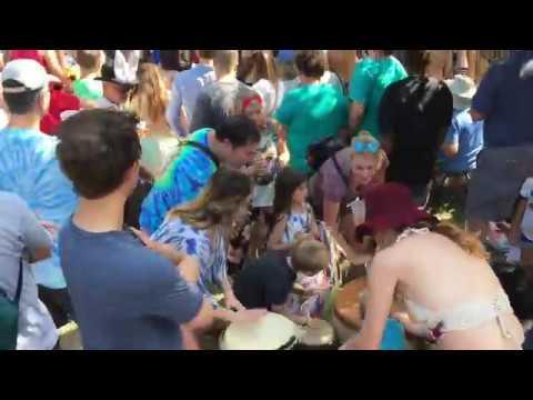SOUNDSCAPE: Eeyore's Birthday Party 2018 - Pease Park - Austin, Texas - 042818
