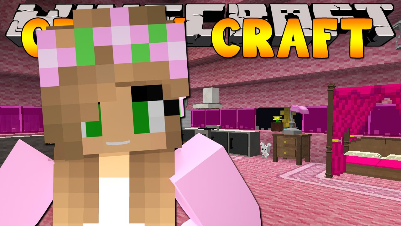 Minecraft Crazy Craft 3 0 : DECORATING LITTLE KELLY'S HOME #40