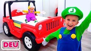 Vlad und sein neues Cars-Zimmer
