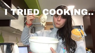 COOK WITH ME / super cringy and annoying pls dont watch