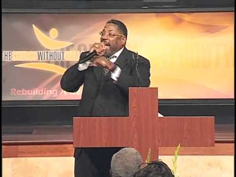 Dr. J. Weldon Gilbert preaching at the Church Without Walls, Houston, Texas