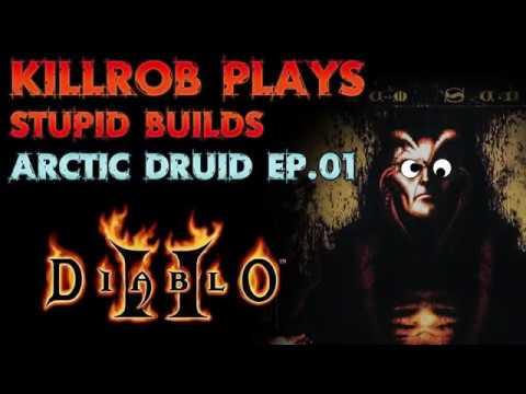 Diablo 2 Stupid Builds: Arctic Druid Ep.01