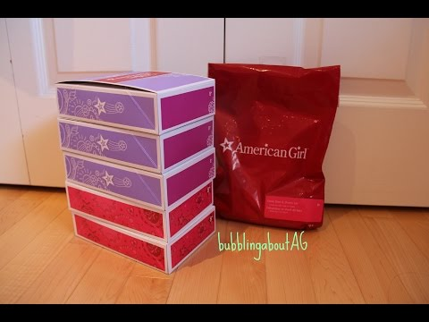 Opening American Girl Truly Me Items!
