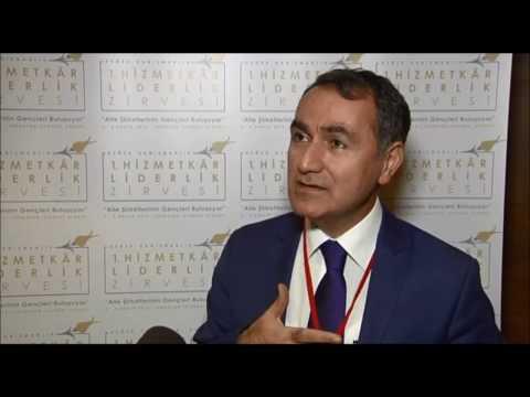 Dr. İlhami Fındıkçı - 1. Hizmetkâr Liderlik Zirvesi Röportajı