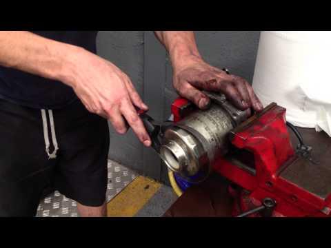 honda crv  diesel fuel filter replacment doovi