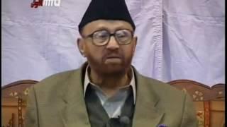 Speech By Hazrat Sahibzada Mirza Waseem Ahmad at Jamia Ahmadiyya, Qadian