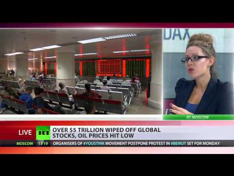 Black Monday a 'global bloodbath' - oil prices at 6yr low