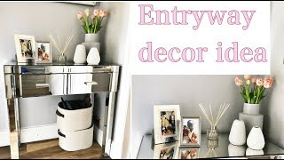 Home Decor- Entryway/ Hallway Decor Idea
