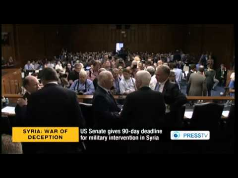 Support Builds in Congress for US Strike Against Syria