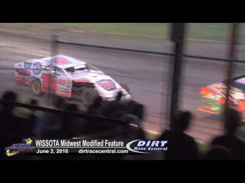 KRA Speedway 6/2/16 WISSOTA Midwest Mod feature final laps