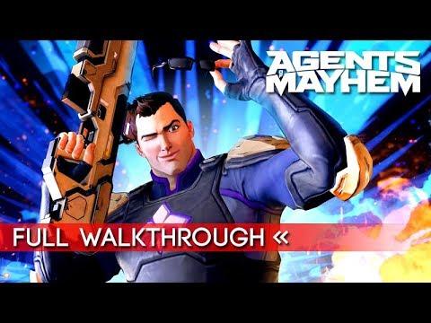 Agents of Mayhem | Full Story Mode Walkthrough (1080p HD)