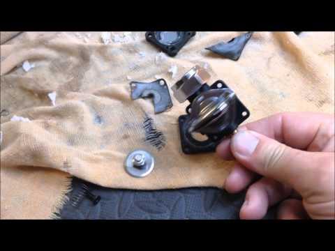 Harley Davidson Rich Idle, Black Smoke, Petcock Vacuum Leaking Raw fuel