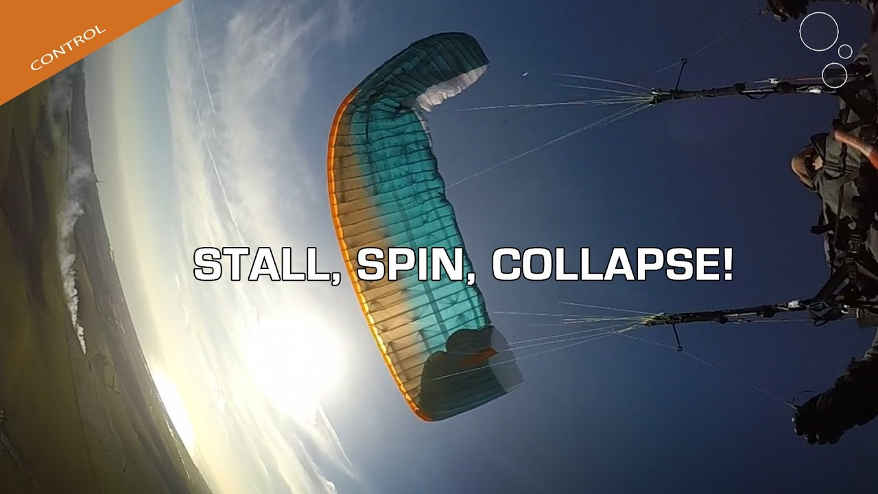 Paraglider Control: Stall, Spin, Collapse! - Flybubble Blog