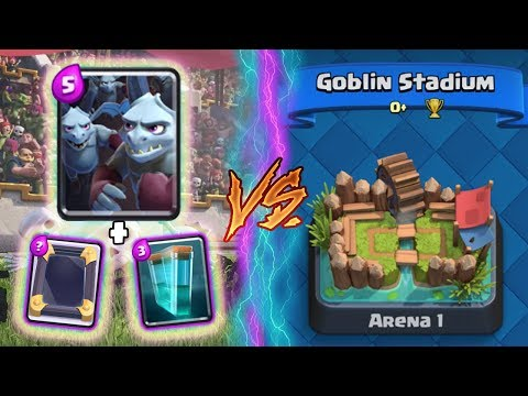 Thumbnail: Clash Royale | MINION HORDE + CLONE TROLLING ARENA 1! | *FUNNY MOMENTS* (Drop Trolling #66)