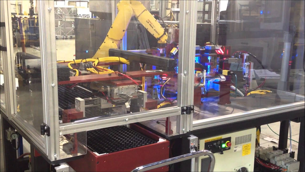 Automated Part Inspection Amp Robotic Tray Loading System