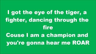 LYRICS  Katy Perry -  Roar
