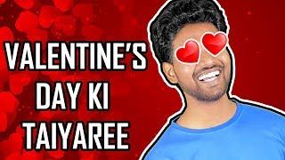 Valentine's Day Ki Taiyaree | Hindi Comedy | Pakau TV Channel