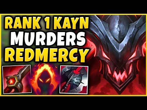 1 KAYN WORLD MURDERS REDMERCY IN HIGH-ELO HE TRIED TO PAY ME OFF - League of Legends