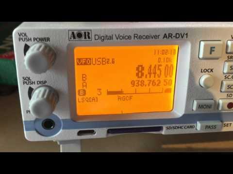 Yaesu VR-5000 auf Kurzwelle | FunnyDog TV