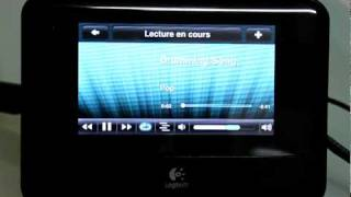 Test Logitech Squeezebox Touch - Application Deezer