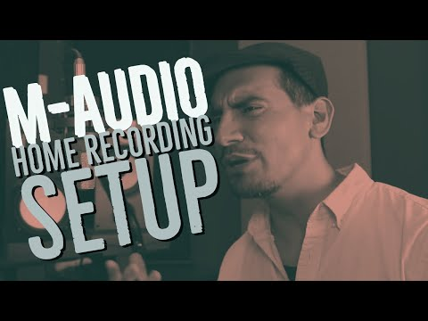 Recording a Song with the M-Audio M-Track 2X2M | AlexProMix.com