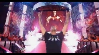 Tony Chimel Voice Crack (Edge return) - WWE SmackDown 9/13/13 - September 13th 2013