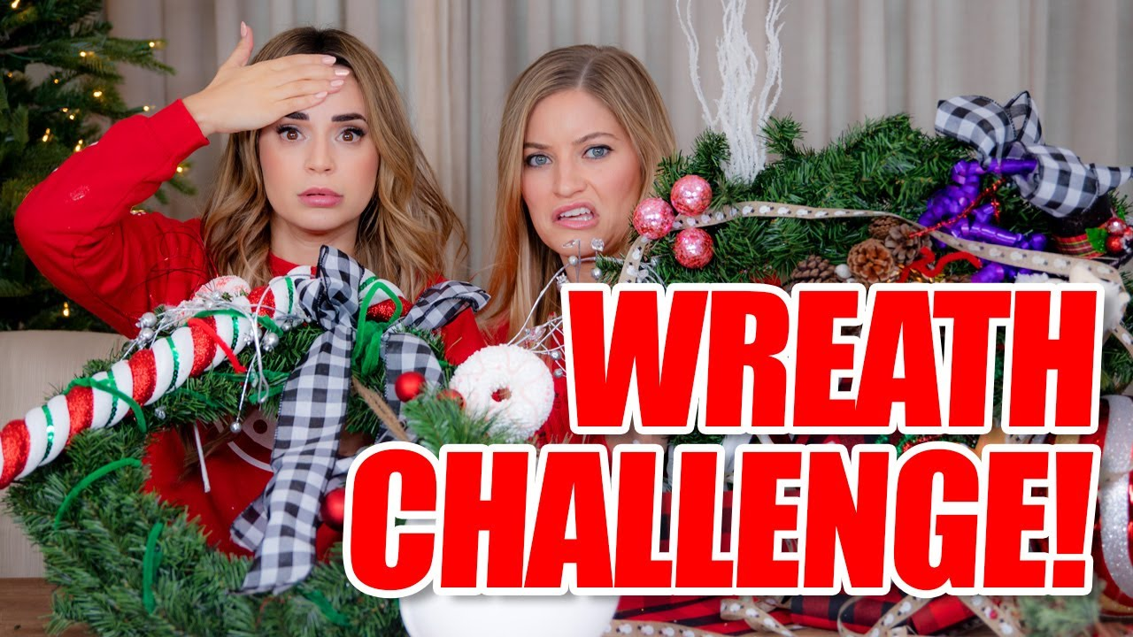Nerdy Nummies New Episodes Dec 2020 With Justine Gadgets Christmas Merry Christmas! Wreath Decorating Challenge with Rosanna!   YouTube