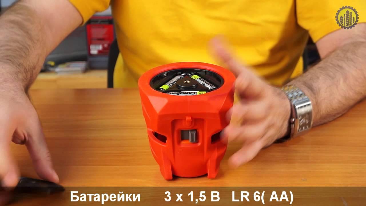 Обзор НОВИНКА Лазерный уровень CONDTROL MULTILINE 360. Леруа .