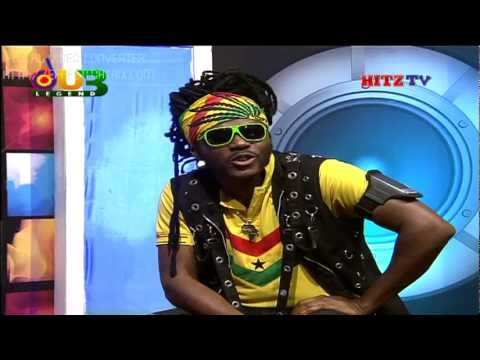 "ORIGINAL MYSTIC ALPHA ""Cries of African Americans"" interview on HITZ Tv on MULTI Tv Ghana"