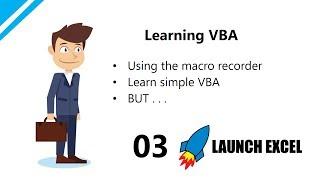 Excel Macros & VBA: 3 Learn simple Excel VBA using the Macro Recorder