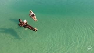 Dead Sea - drone view