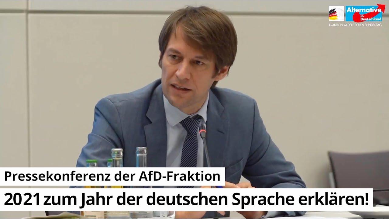 """12.01.2021 """"2021 zum Jahr der deutschen Sprache erklären!"""""""