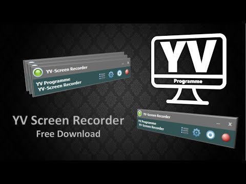 YV Screen Recorder Free Download