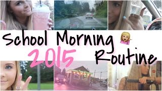 MORNING ROUTINE 2♡15 | school edition