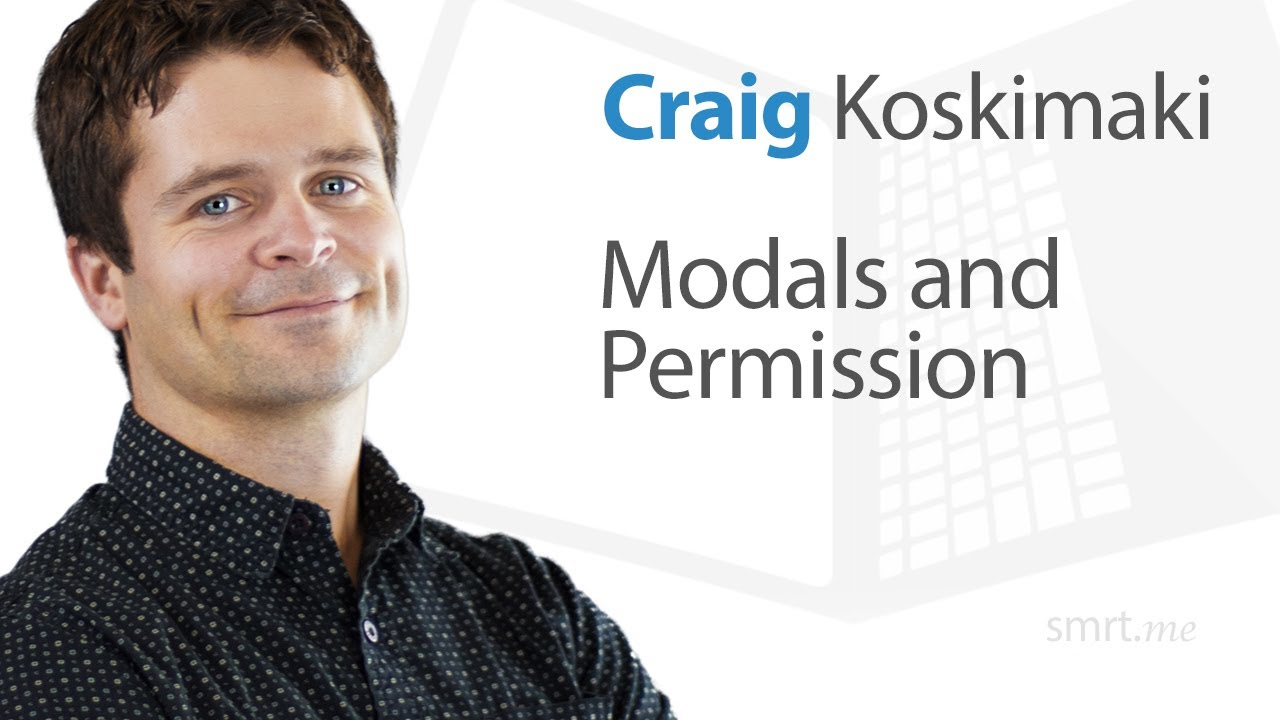 Modals and Permission