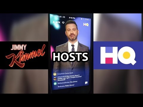 HQ Trivia with Jimmy Kimmel (Jimmy Kimmel hosts HQ Trivia)