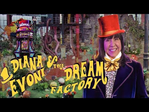 FUDGE FOR EVERYONE! WILLY WONKA and THE DREAM FACTORY