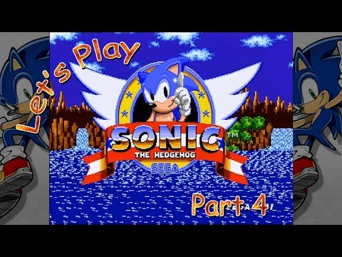 Let's Play Sonic the Hedgehog - Part 4 (Labyrinth Zone)