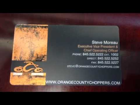 Orange county choppers business card youtube orange county choppers business card colourmoves