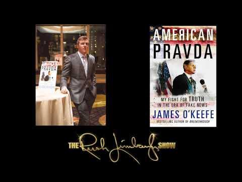 James O'Keefe Discusses American Pravda on the Rush Limbaugh Program