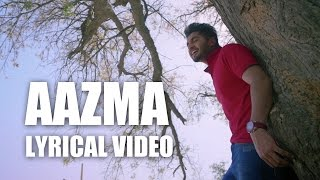Aazma | Lyrical Video | Jassi Gill | Sagarika Ghatge | Latest Punjabi Movie Song 2015