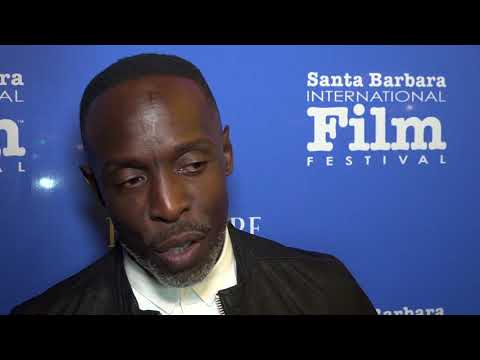 """SBIFF 2018 - Michael K. Williams """"The Public"""" Red Carpet Interview"""