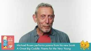 Author Michael Rosen performs poems from A Great Big Cuddle