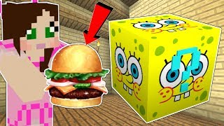 Minecraft: SPONGEBOB *MEMES* LUCKY BLOCK MOD!!! (SPONGEBOB, PATRICK, & KRABBY PATTIES!) Mod Showcase