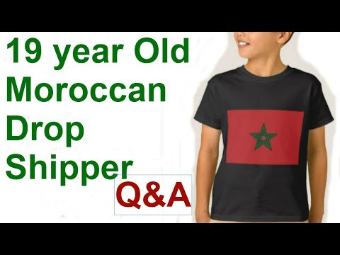 A Call with a Newbie Drop Shipper from Morocco. Abdellah