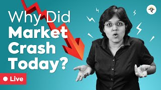 Why did Market fall today? |  CA Rachana Ranade