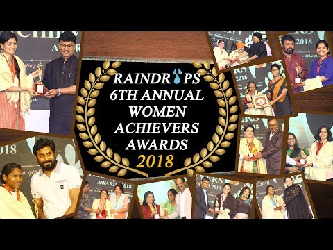Raindropss 6th Annual Women Achievers Awards 2018