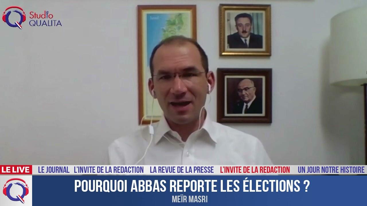 Pourquoi Abbas reporte les élections ? - L'invité du 3 mai 2021